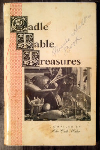 formerly property of Mrs. Flossie Hall...now in the authors private cookbook collection